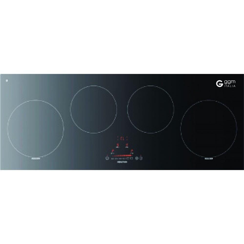 So sánh bếp từ 4 vùng nấu từ - GCI940SLG và bếp hồng ngoại